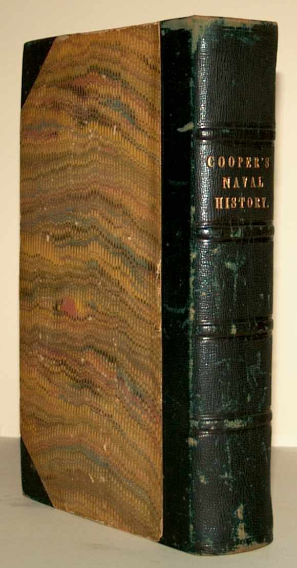 COOPER, JAMES FENIMORE - History of the Navy