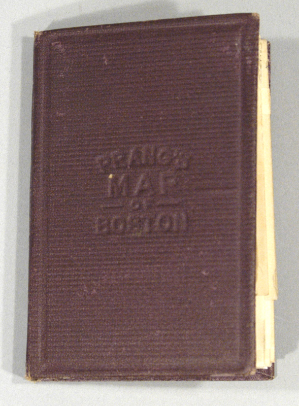 PRANG & COMPANY - Map of Boston, 1875, After the Latest Surveys, with All the