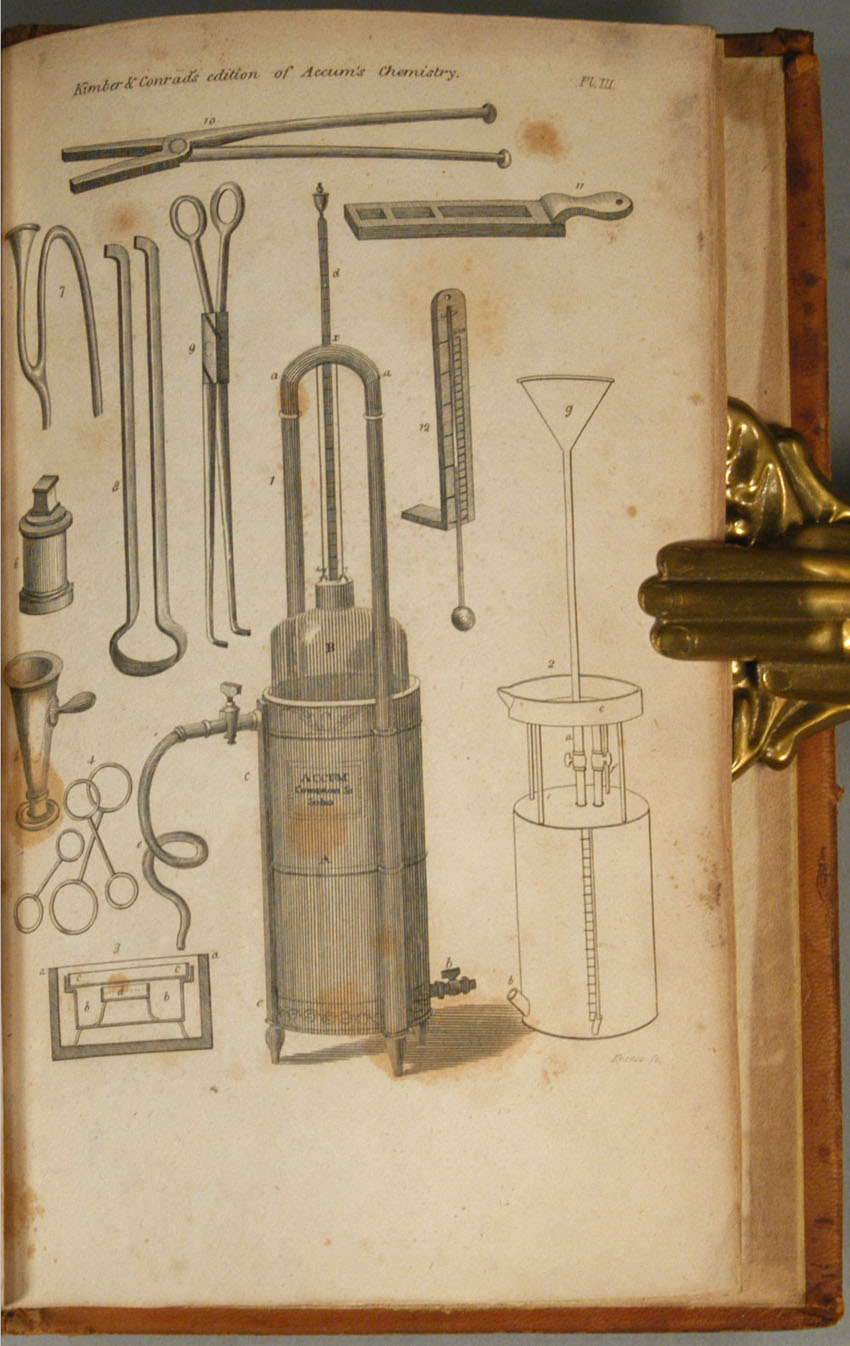 SYSTEM OF THEORETICAL AND PRACTICAL CHEMISTRY by Frederick ACCUM on Boston  Book Company