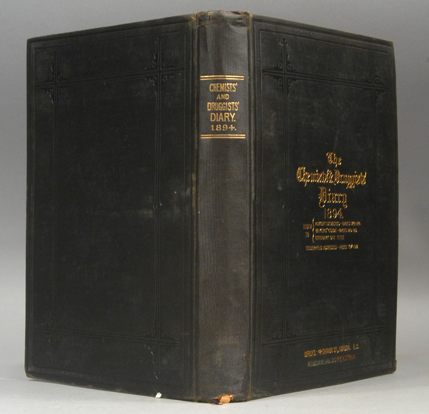 CHEMIST AND DRUGGIST, THE - Chemists' & Druggists' Diary: 1894