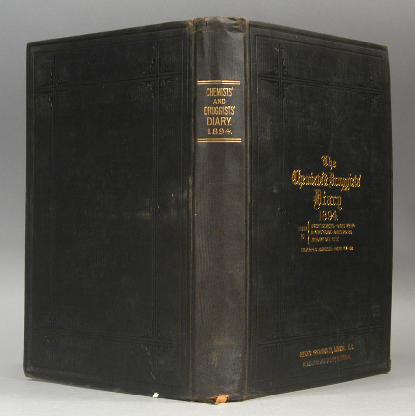 CHEMIST AND DRUGGIST, THE - Chemists' & Druggists' Diary: 1897