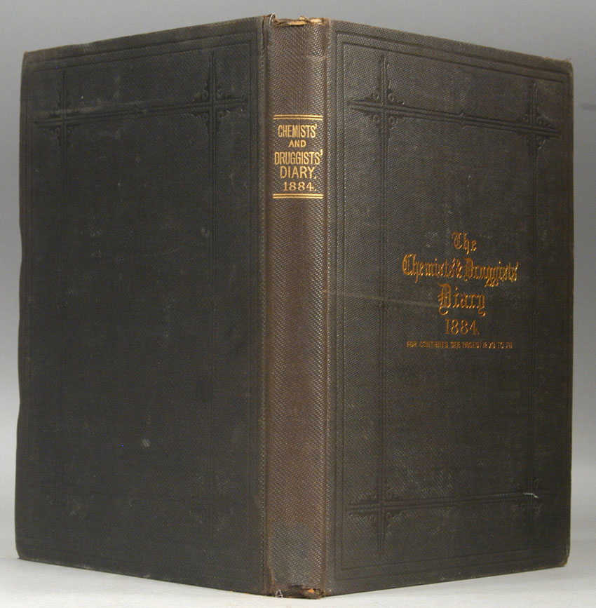 CHEMIST AND DRUGGISTS, THE - Chemists' & Druggists' Diary, 1884