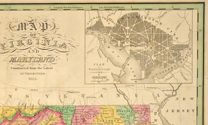 Map Virginia And Maryland Anthony Finley