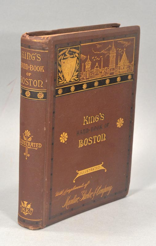 BOSTON - King's Hand-Book of Boston
