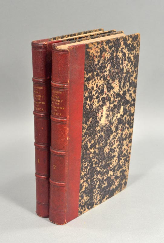 COOPER, J. FENNIMORE - History of the Navy of the United States of America in Two Volumes