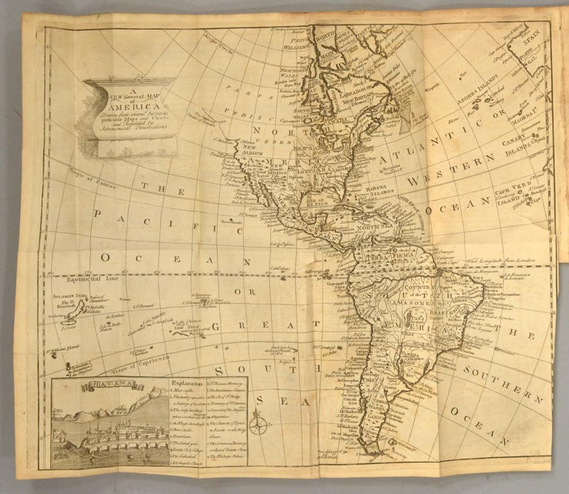 CAMPBELL, JOHN - Account of the Spanish Settlements in America