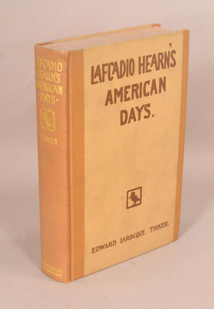 LAFCADIO HEARN'S AMERICAN DAYS. LAFCADIO HEARN.