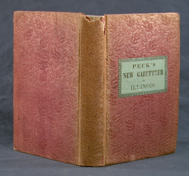 GAZETTEER OF ILLINOIS. J. M. PECK.