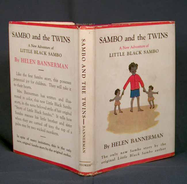 SAMBO AND THE TWINS: A NEW ADVENTURE OF LITTLE BLACK SAMBO. Helen BANNERMAN.