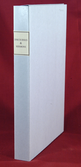 COLLECTION OF FIVE SERMONS, INCLUDING A DIRGE AND A MONODY. AMERICAN - 18TH cENTURY SERMONS.