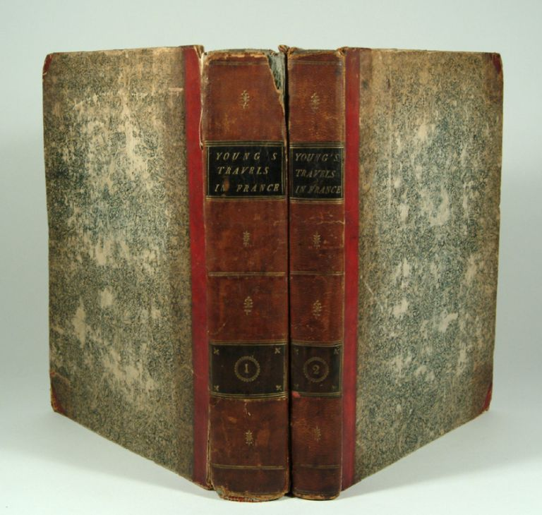 TRAVELS DURING THE YEARS 1787, 1788, and 1789. Arthur YOUNG.