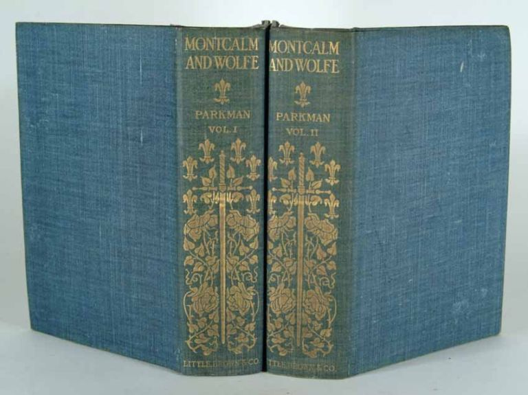 MONTCALM AND WOLFE, 2 VOLUMES, ILLUSTRATED HOLIDAY EDITION. Francis PARKMAN.