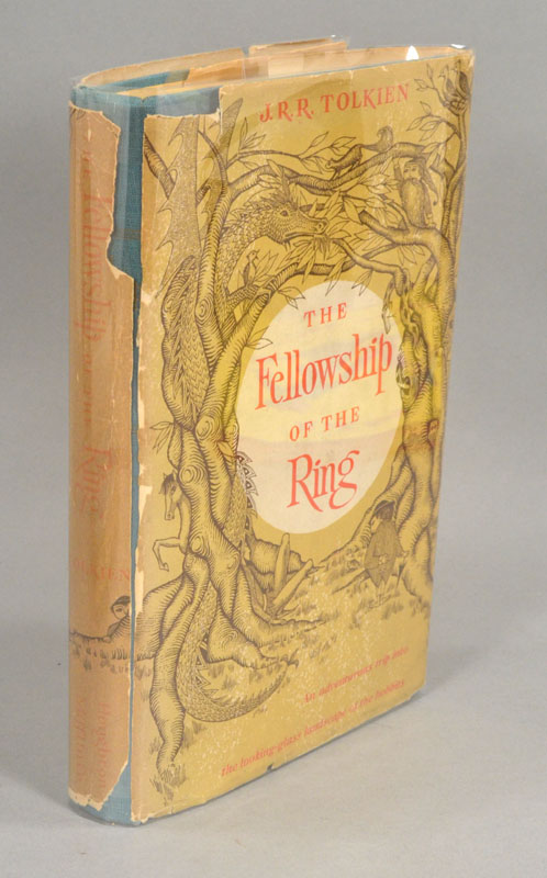 FELLOWSHIP OF THE RING: BEING THE FIRST PART OF THE LORD OF THE RINGS. J. R. R. TOLKIEN.