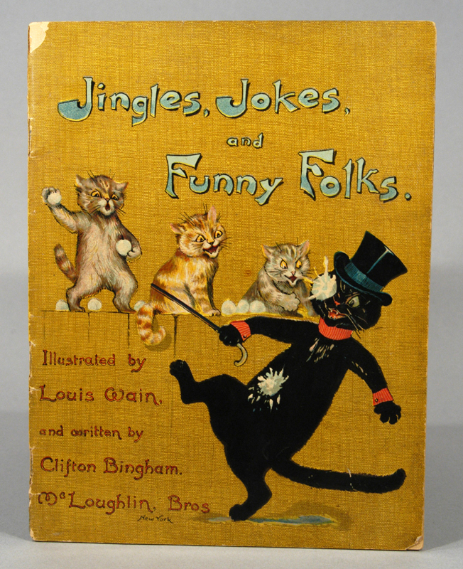 JINGLES, JOKES, AND FUNNY FOLKS. Clifton BINGHAM.
