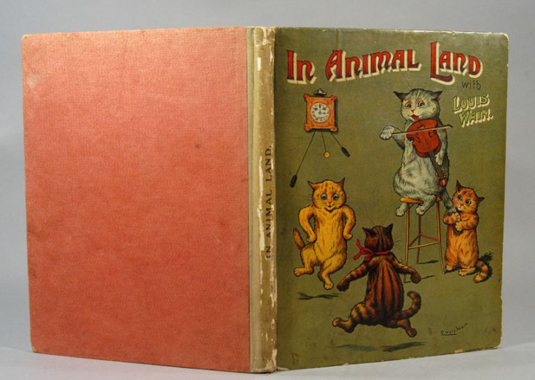 IN ANIMAL LAND WITH LOUIS WAIN. Louis WAIN.