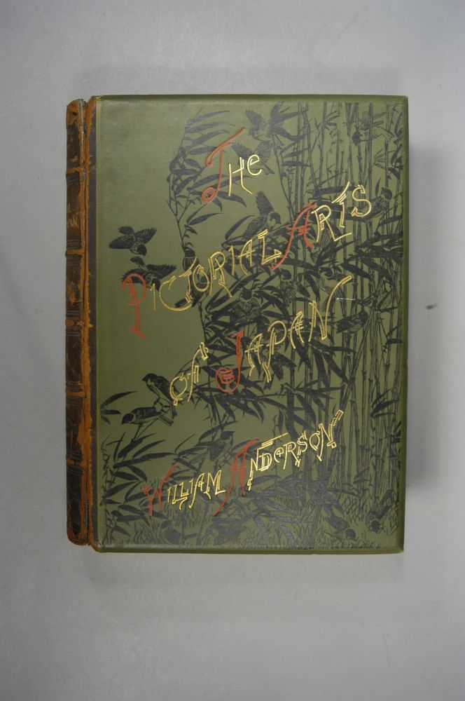 PICTORIAL ARTS OF JAPAN. WILLIAM ANDERSON.
