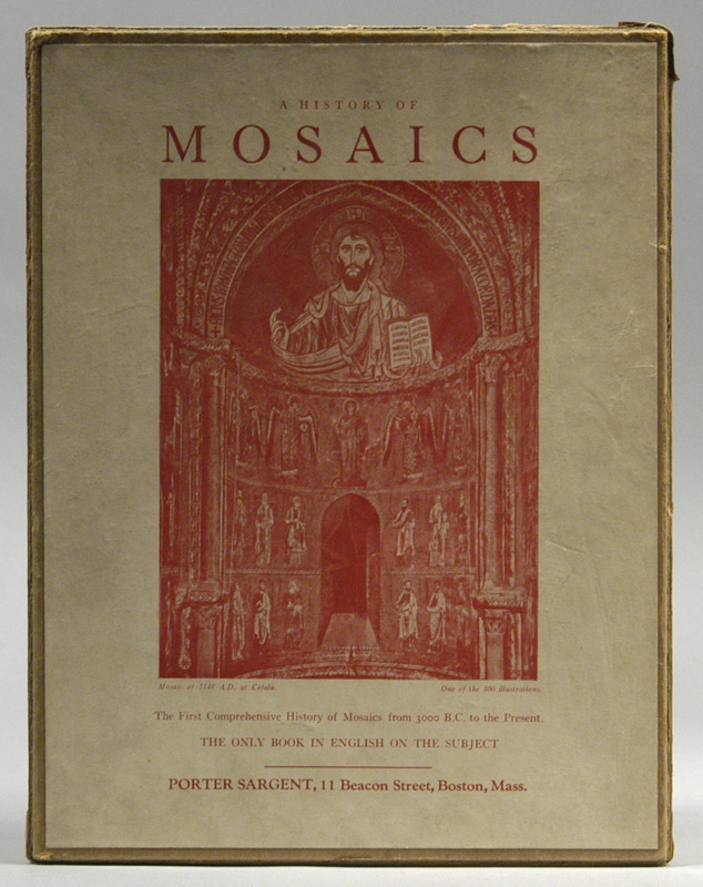 HISTORY OF MOSAICS. Edgar Waterman ANTHONY.