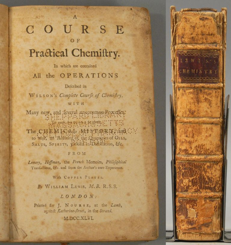 COURSE OF PRACTICAL CHEMISTRY. William LEWIS.