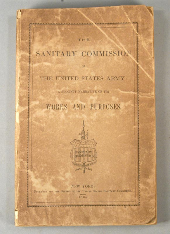 SANITARY COMMISSION OF THE UNITED STATES ARMY. United States Sanitary Commission.