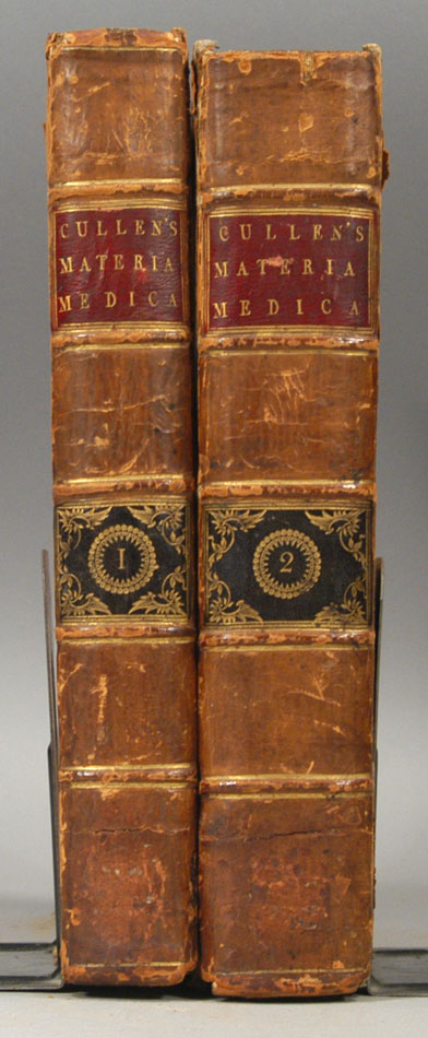 TREATISE OF THE MATERIA MEDICA. 2 vols. William CULLEN.