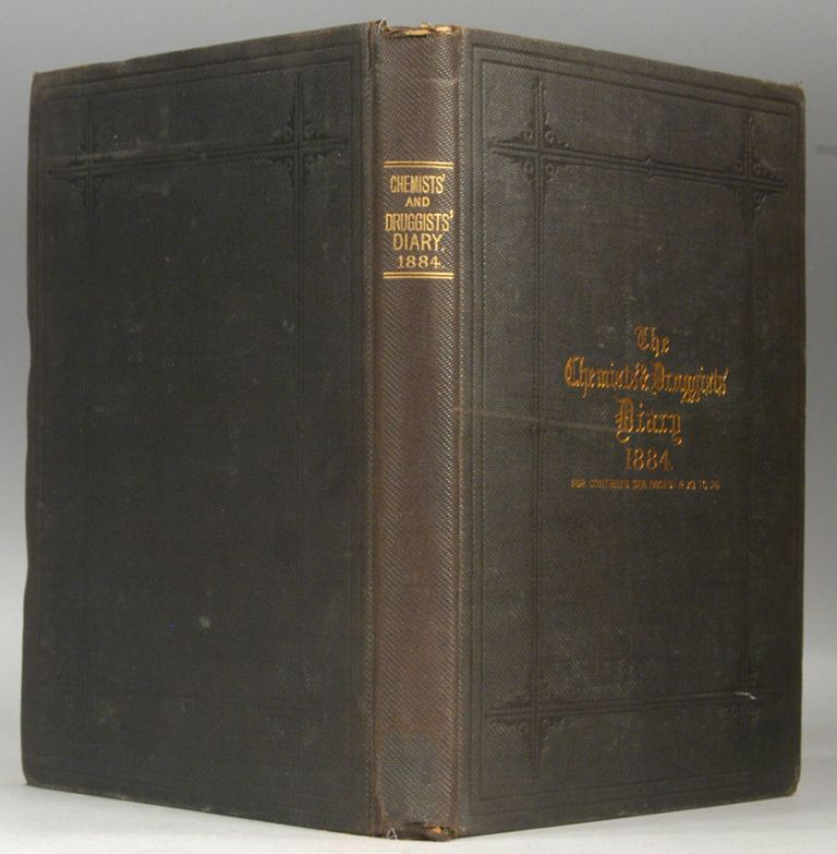 CHEMISTS' & DRUGGISTS' DIARY, 1884. THE CHEMIST AND DRUGGISTS.