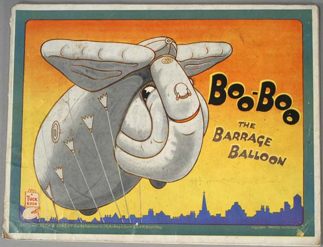 BOO BOO THE BARRAGE BALLOON. JUVENILE.