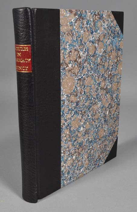 PRAELECTIONES PHARMACEUTICAE; OR A COURSE OF LECTURES IN PHARMACY. John QUINCY.