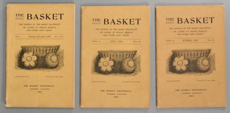 BASKET: THE JOURNAL OF THE BASKET FRATERNITY OR LOVERS OF INDI. PERIODICALS.