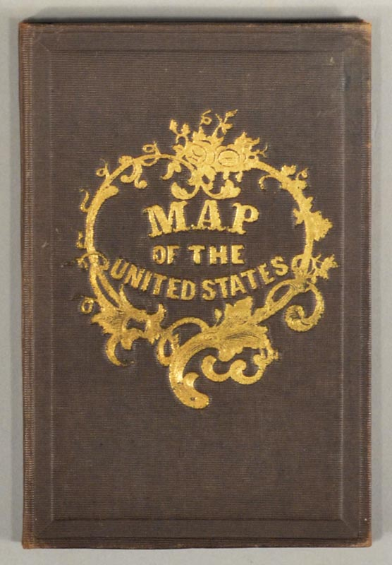 MAP OF THE UNITED STATES OF AMERICA, THE BRITISH PROVINCES, MEXICO, MAP.