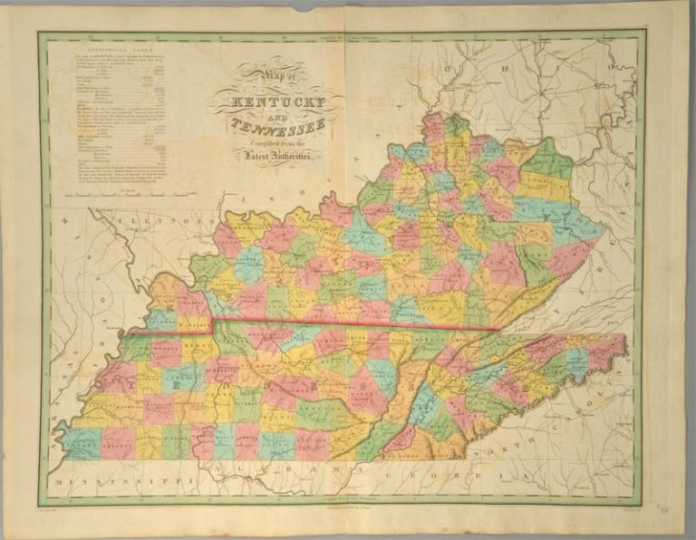 [MAP], KENTUCKY AND TENNESEE. Anthony FINLEY.