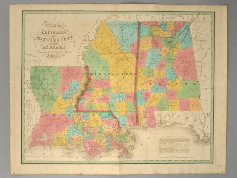 [MAP], LOUISIANNA, MISSISSIPPI, AND ALABAMA. Anthony FINLEY.