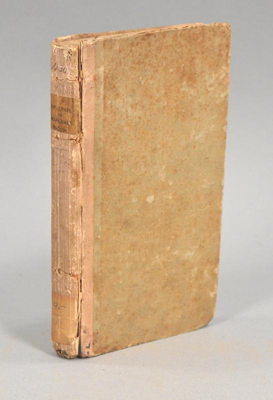 PRACTICAL ESSAY ON THE ANALYSIS OF MINERALS. Frederick ACCUM.