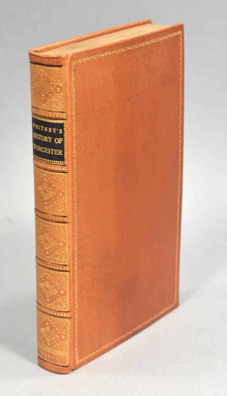 HISTORY OF THE COUNTY OF WORCESTER, IN THE COMMONWEALTH OF MASSACHUSET. Peter WHITNEY.
