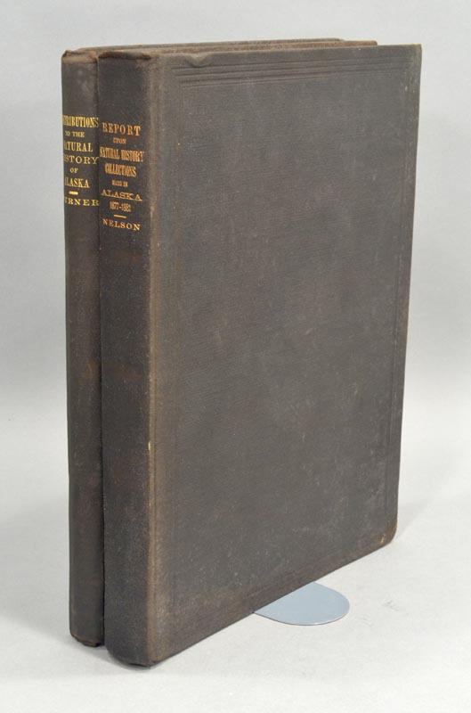 CONTRIBUTIONS TO THE NATURAL HISTORY OF ALASKA. L. M. TURNER, Edward W. NELSON.