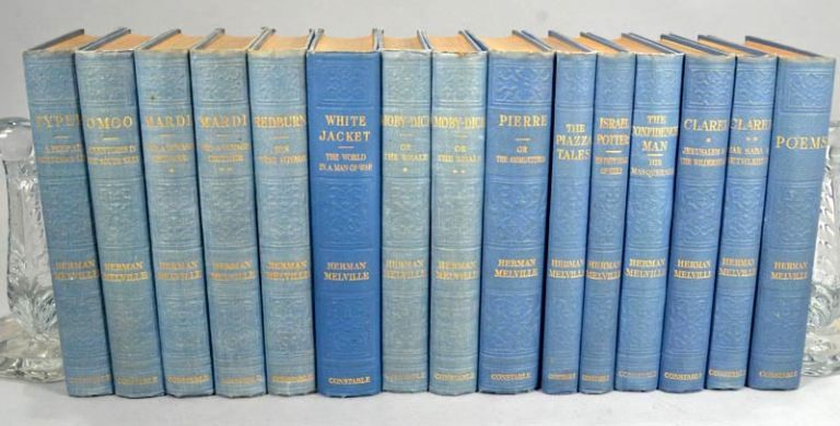 WORKS OF HERMAN MELVILLE. 15 (OF 16) VOLS. THE STANDARD EDITION. Herman MELVILLE.