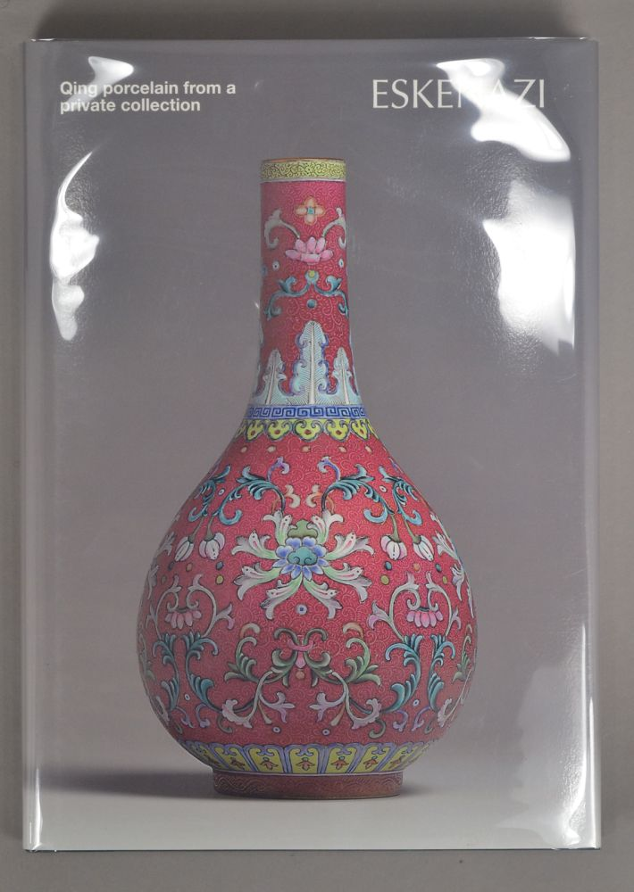 QING PORCELAIN FROM A PRIVATE COLLECTION. ESKENAZI.
