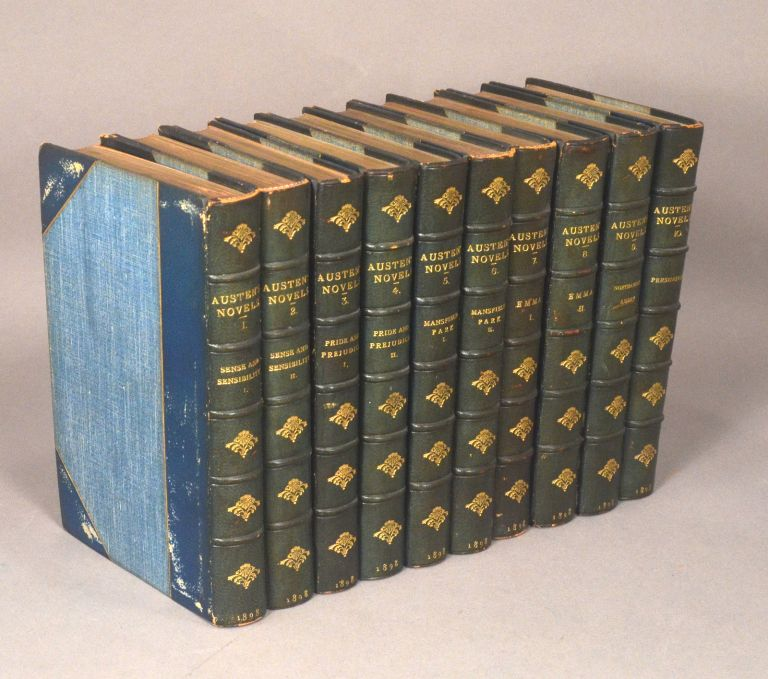NOVELS OF JANE AUSTEN (IN TEN VOLUMES). Jane AUSTEN.