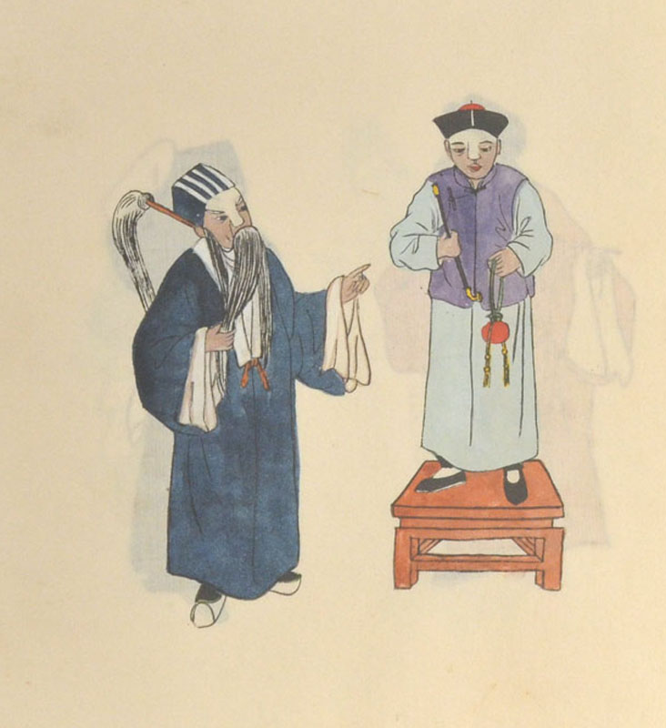 [SCENES FROM CHINESE PLAYS]. DRAMA - CHINA.
