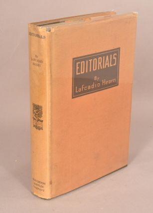 EDITORIALS. LAFCADIO HEARN