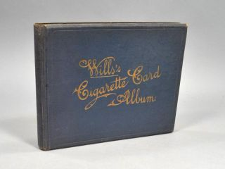WILLS'S CIGARETTE CARD ALBUM. CIGARETTE CARDS