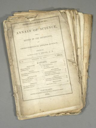 ANNALS OF SCIENCE. 13 ISSUES. Hamilton SMITH
