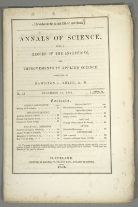 ANNALS OF SCIENCE. 13 ISSUES