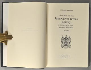 JOHN CARTER BROWN LIBRARY