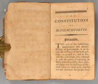 CONSTITUTION, OR FRAME OF GOVERNMENT, FOR THE COMMONWEALTH OF MASSACHU