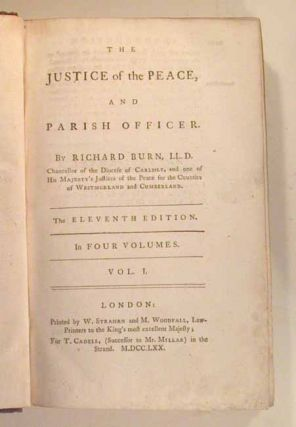 JUSTICE OF THE PEACE AND PARISH OFFICER