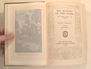 HUNTING OF THE SNARK AND OTHER POEMS AND VERSES