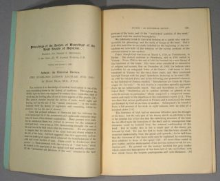 APHASIA: AN HISTORICAL REVIEW (THE HUGHLINGS JACKSON LECTURE FOR 1920)