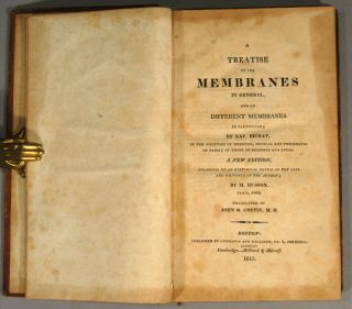 TREATISE ON THE MEMBRANES IN GENERAL, AND ON DIFFERENT MEMBRANES IN GENERAL, AND ON DIFFERENT MEMBRANES IN PARTICULAR