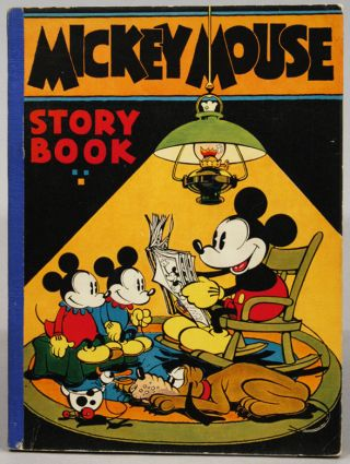 MICKEY MOUSE STORY BOOK. WALT DISNEY STUDIO STAFF