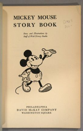 MICKEY MOUSE STORY BOOK